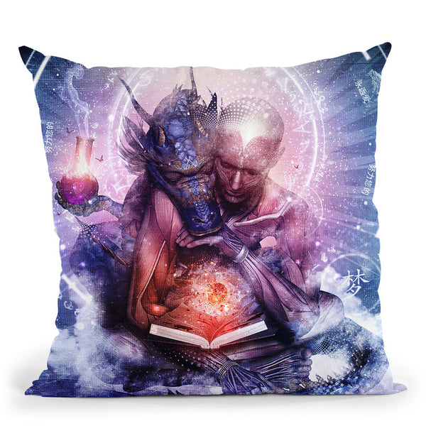 Perhaps The Dreams Are Of Soulm  Throw Pillow By Cameron Gray - by all about vibe
