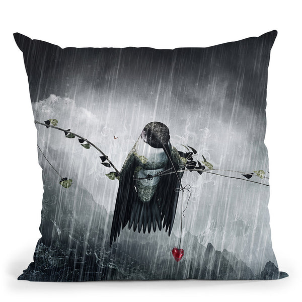 Reach  Throw Pillow By Cameron Gray - by all about vibe