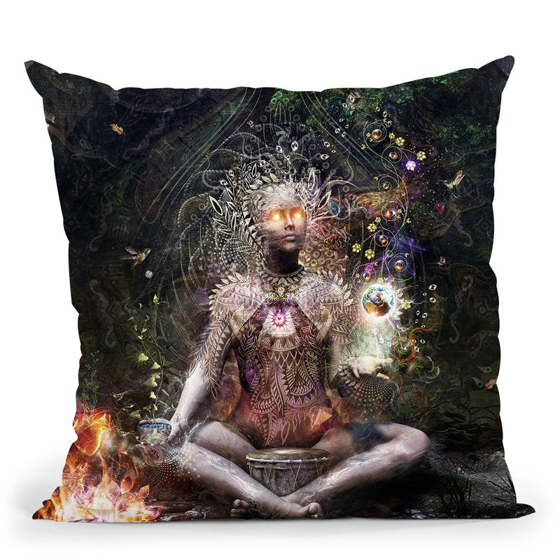 Sacrament For The Sacred Dreame  Throw Pillow By Cameron Gray - by all about vibe