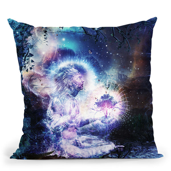 Shoulders And Giants I  Throw Pillow By Cameron Gray - by all about vibe