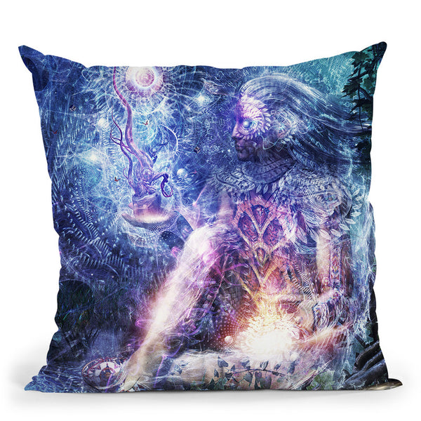 Shoulders And Giants  Throw Pillow By Cameron Gray - by all about vibe