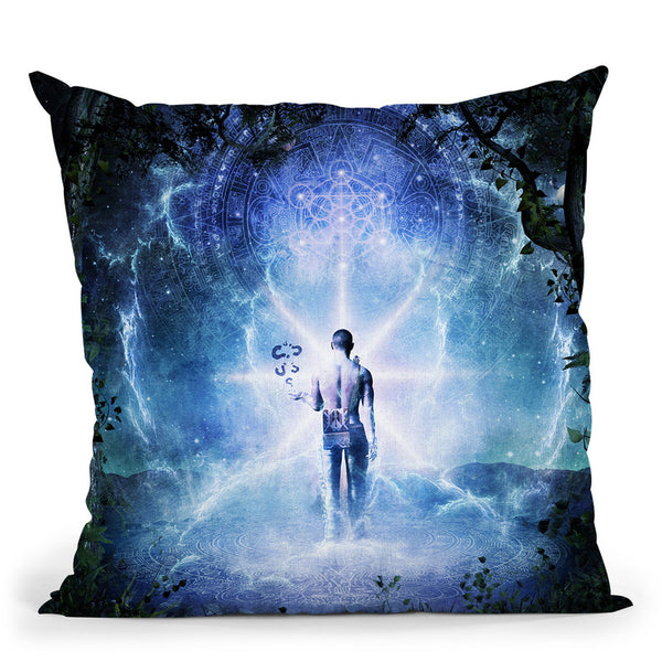 The Journey Begins  Throw Pillow By Cameron Gray - by all about vibe
