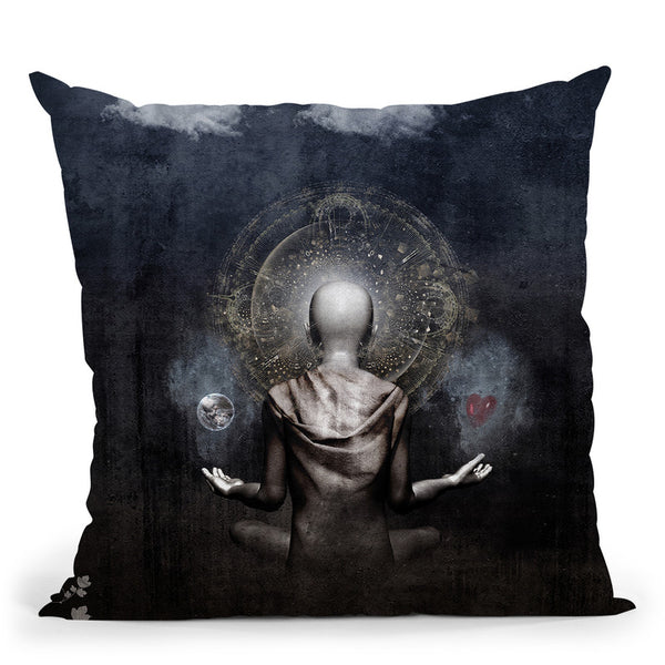 The Projection  Throw Pillow By Cameron Gray - by all about vibe