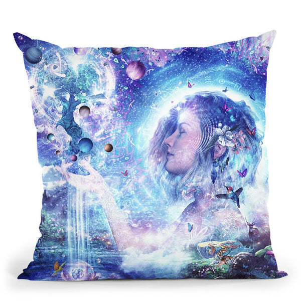 Dancing Dreams  Throw Pillow By Cameron Gray - by all about vibe