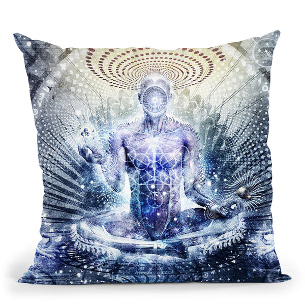 Awake Could Be So Beautiful Throw Pillow By Cameron Gray