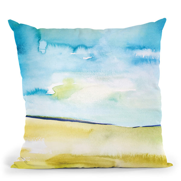 Landscape Viii Throw Pillow By Christine Lindstrom