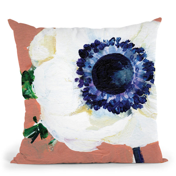 Anemone Throw Pillow By Christine Lindstrom