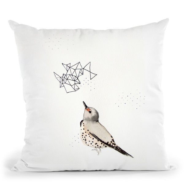 Northern Flicker Throw Pillow By Christine Lindstrom