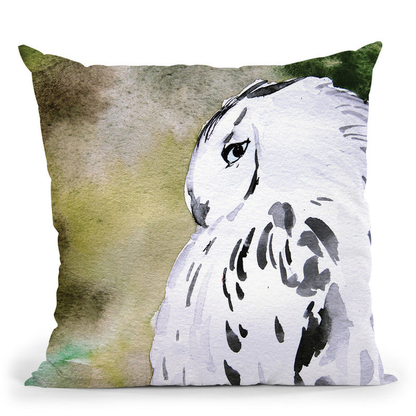 Owl Throw Pillow By Christine Lindstrom