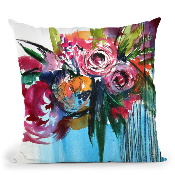 Paradiso Throw Pillow By Christine Lindstrom
