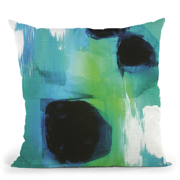 Peacock Dream Throw Pillow By Christine Lindstrom