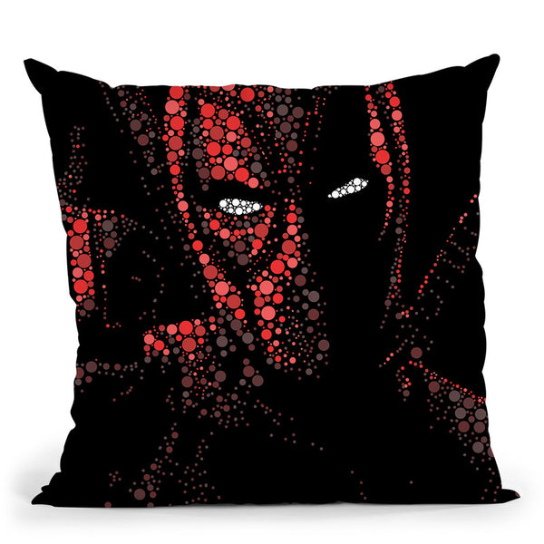 Deadpool Throw Pillow By Christian Mielu