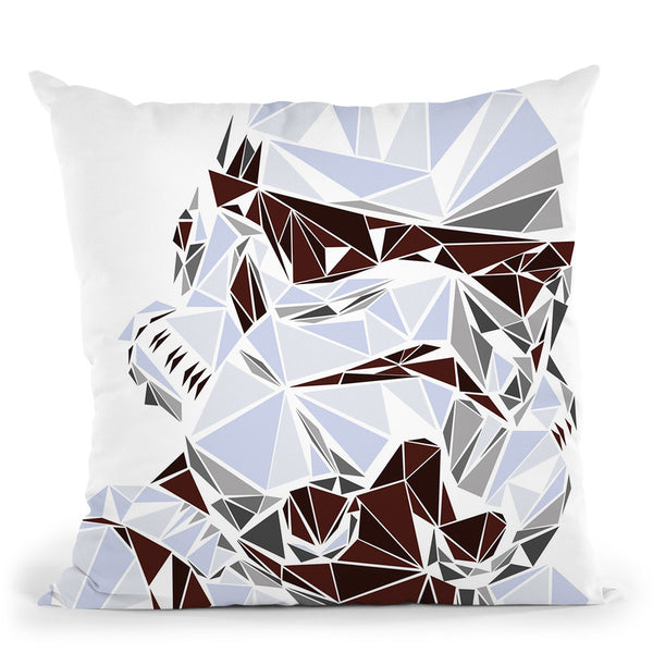 Stormtrooper Throw Pillow By Christian Mielu