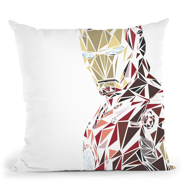Ironman Ii Throw Pillow By Christian Mielu