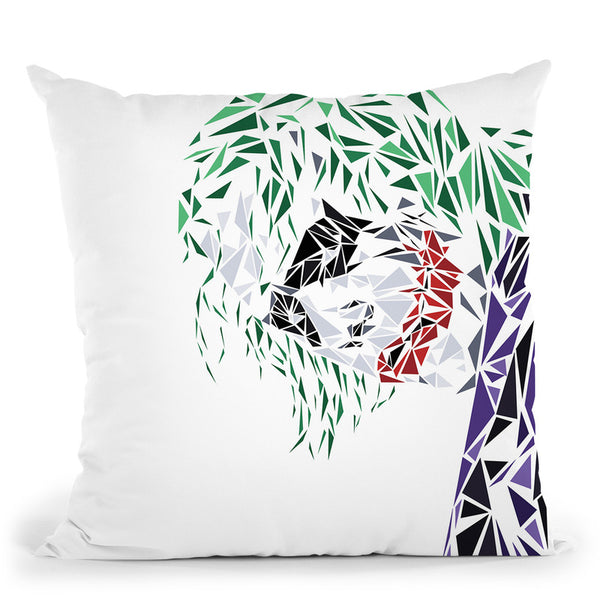 Joker Throw Pillow By Christian Mielu