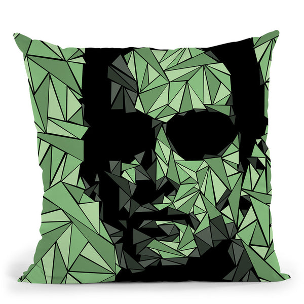 Matrix Neo Throw Pillow By Christian Mielu