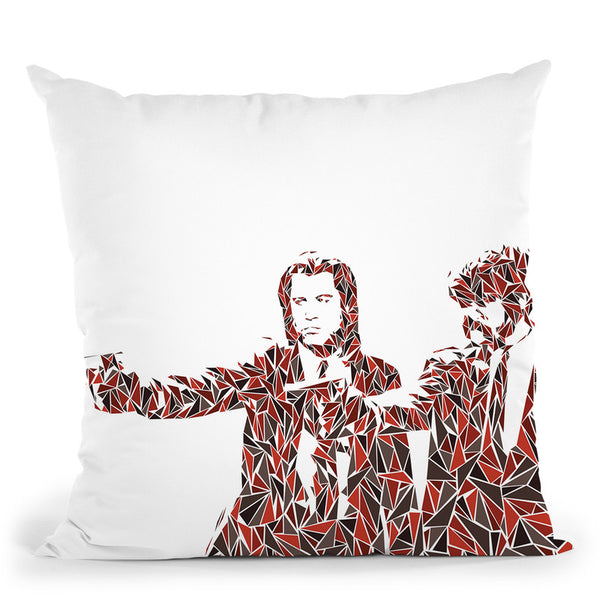 Pulp Fiction Throw Pillow By Christian Mielu