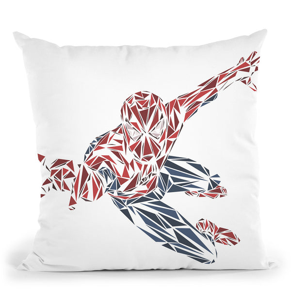 Spiderman Throw Pillow By Christian Mielu