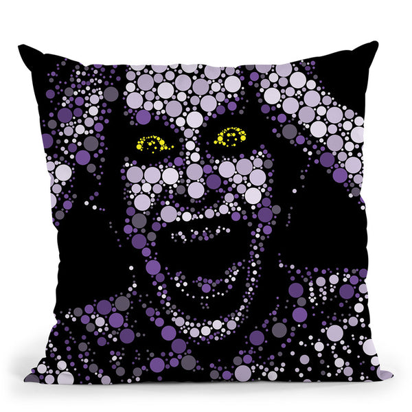 Suicide Joker Throw Pillow By Christian Mielu