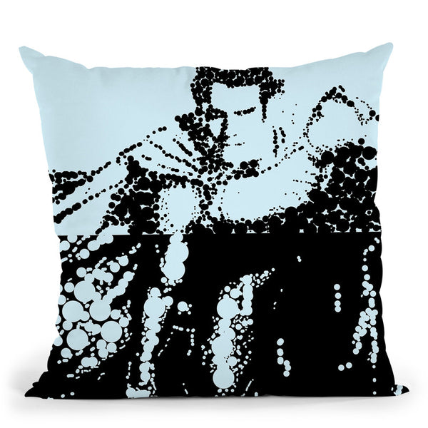 Superman Throw Pillow By Christian Mielu