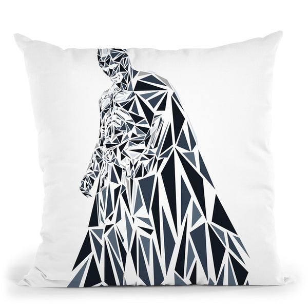 Batman Dark Knight Throw Pillow By Christian Mielu