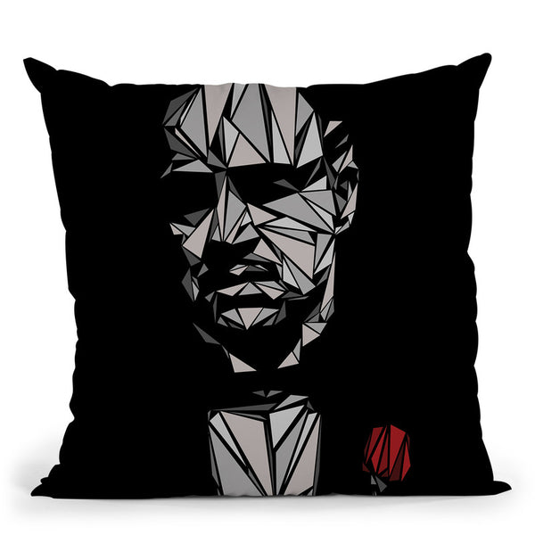 The Godfather Throw Pillow By Christian Mielu