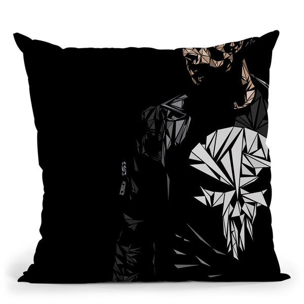 The Punisher Throw Pillow By Christian Mielu