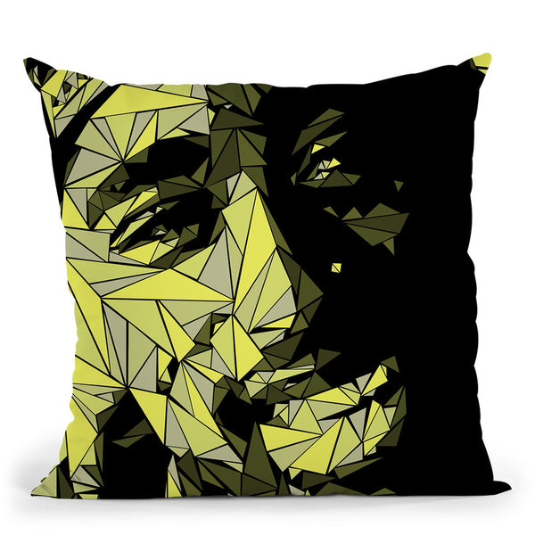 Tupac I Throw Pillow By Christian Mielu