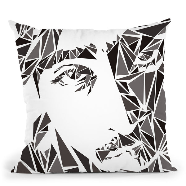 Tupac Ii Throw Pillow By Christian Mielu