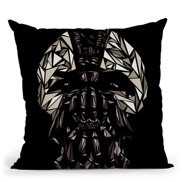 Bane Mask Throw Pillow By Christian Mielu