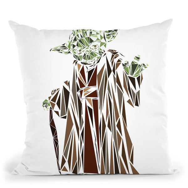 Yoda Throw Pillow By Christian Mielu