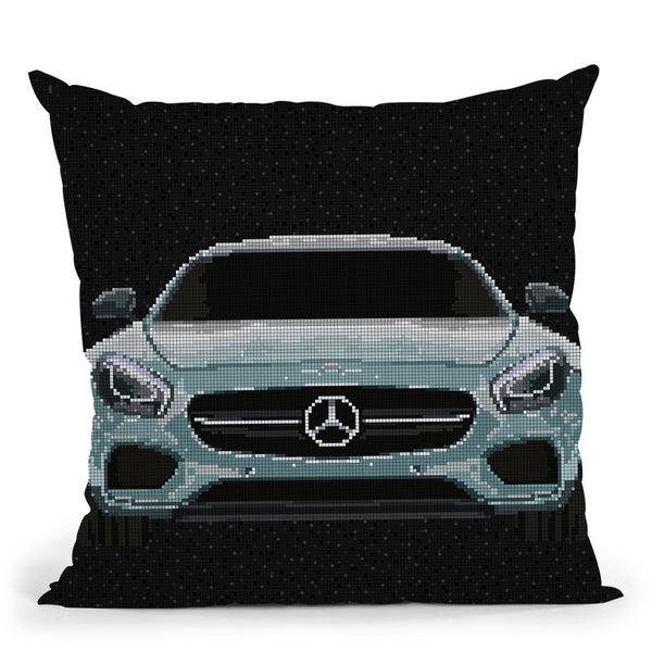 Amg-Gt Throw Pillow By Christian Mielu