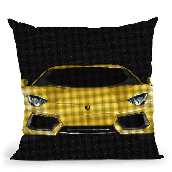 Aventador Throw Pillow By Christian Mielu