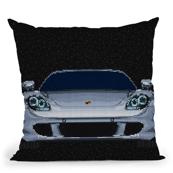 Carrera-Gt Throw Pillow By Christian Mielu