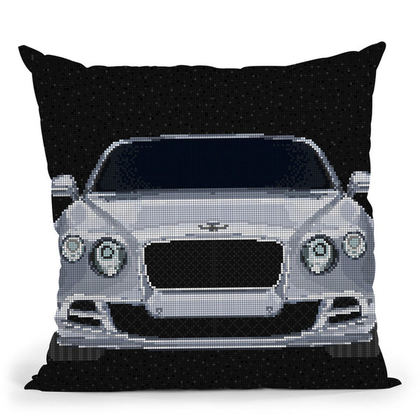 Continental-Gt Throw Pillow By Christian Mielu