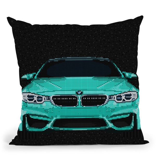 M4 Throw Pillow By Christian Mielu