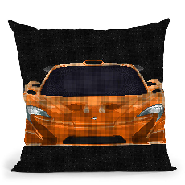 Mclaren-P1 Throw Pillow By Christian Mielu
