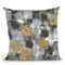 Gold Squares Ii Throw Pillow By Chris Paschke