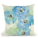 Japanese Quince I Throw Pillow By Chris Paschke