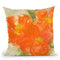 Tangerine Poppies Ii Throw Pillow By Chris Paschke