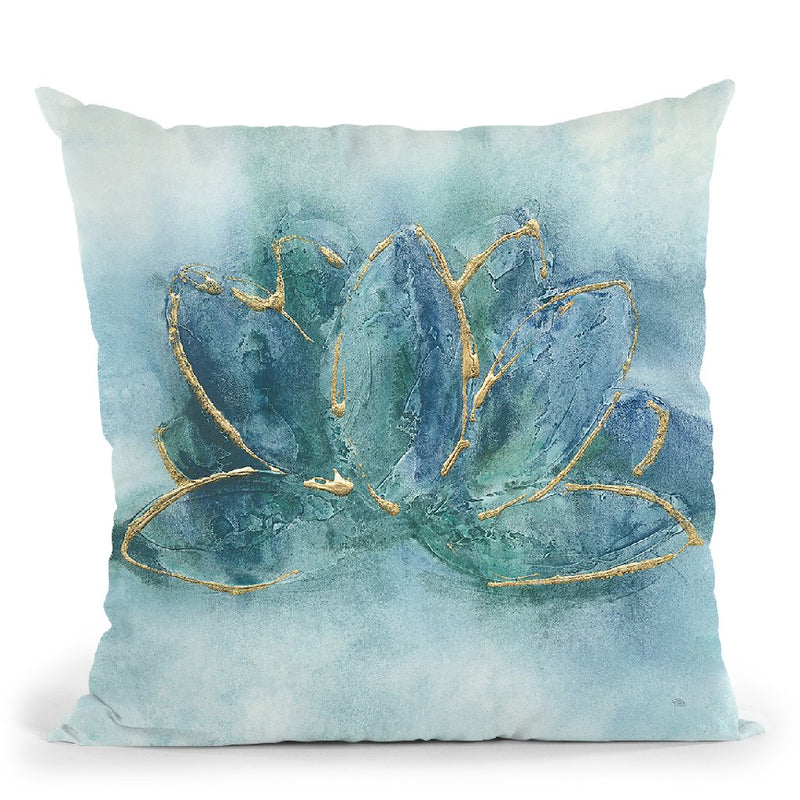 Buddha Lotus Throw Pillow By Chris Paschke