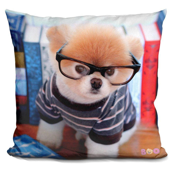 Boo Clever Throw Pillow