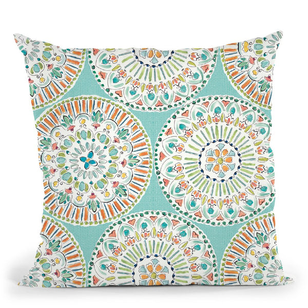 Soft Season Step Throw Pillow By Daphne Brissonnet