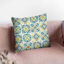 Mediterranean Breeze Step 03B Throw Pillow By Daphne Brissonnet