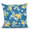 Mediterranean Breeze Step 01B Throw Pillow By Daphne Brissonnet