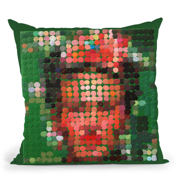 Frida Throw Pillow By Dominique Steffens
