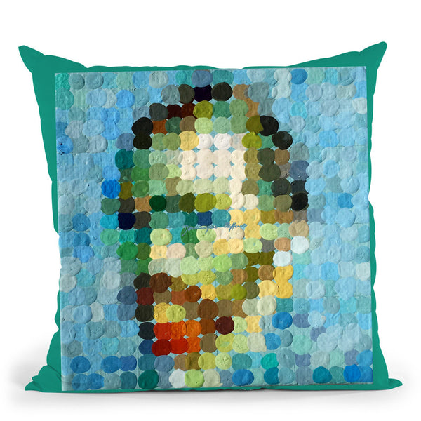 Vincent Throw Pillow By Dominique Steffens