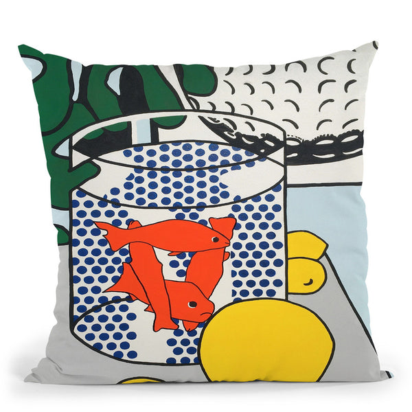 Goldfish Bowl Throw Pillow By Dominique Steffens