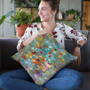Confetti Throw Pillow By Danhui