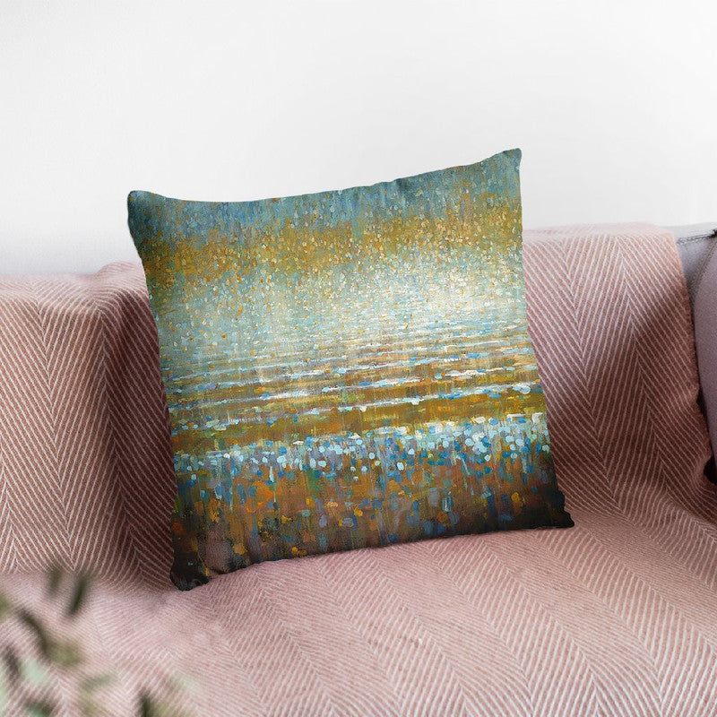 Rains Over Throw Pillow By Danhui